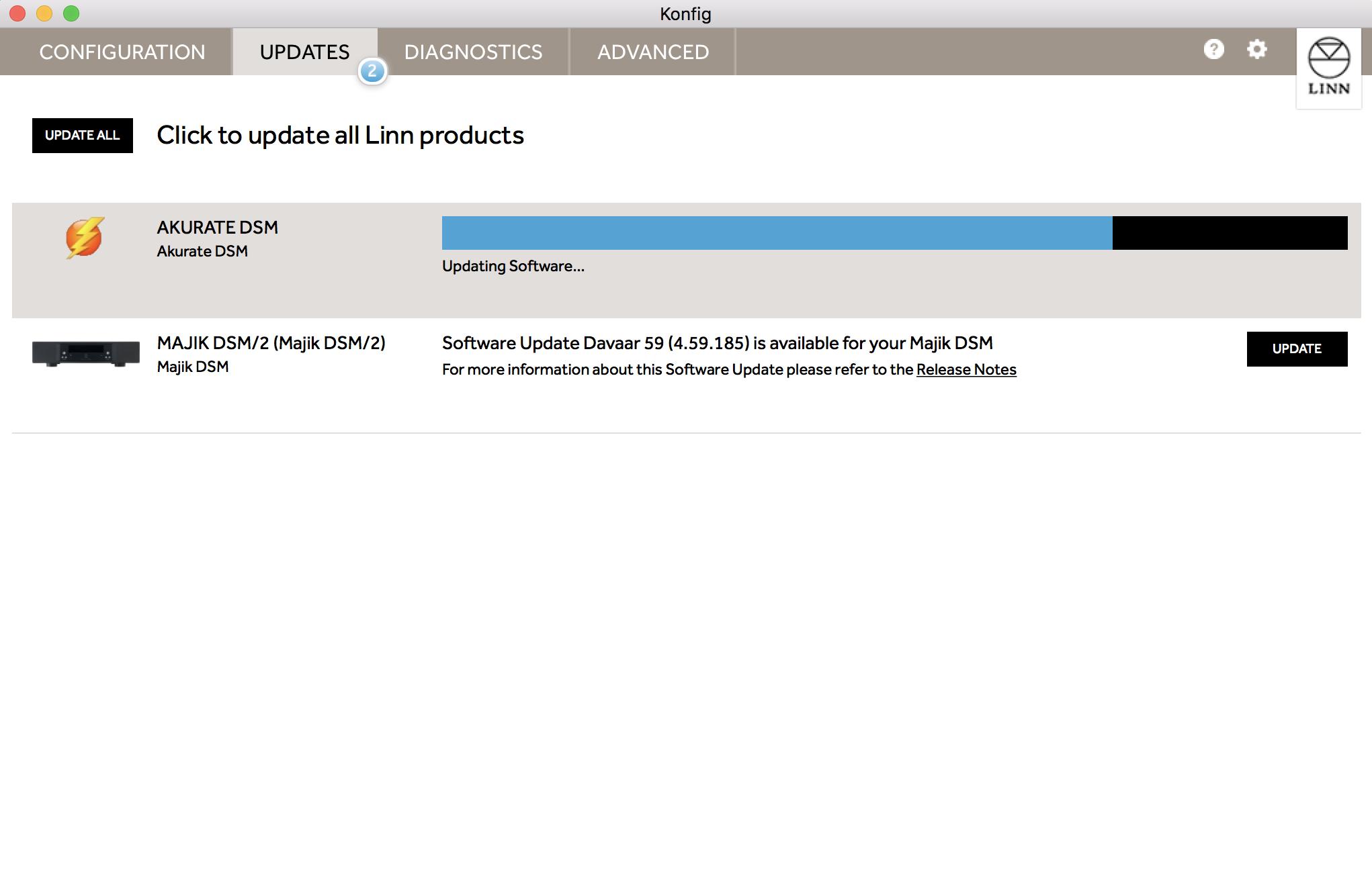 ついにLINN DSがSpotifyに対応しました!